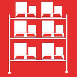Atlantic Rack's Selective Pallet Rack Icon System