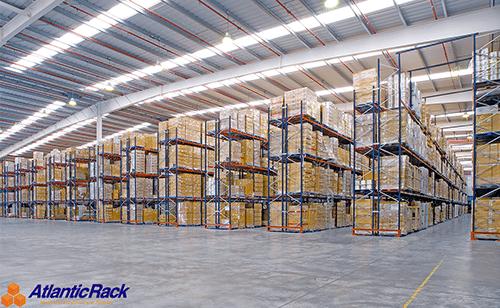 Selective Pallet Rack System Installation