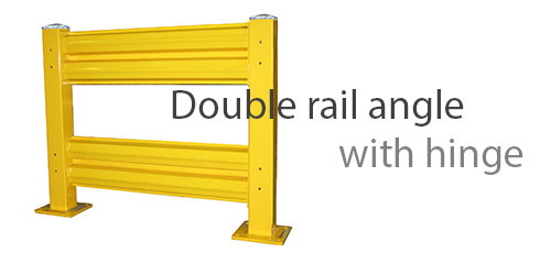 Double-rail-Pallet-Rack-protector-with-hinge-500x250