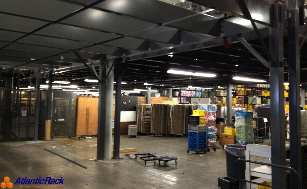 Industrial Mezzanine   Atlantic Rack