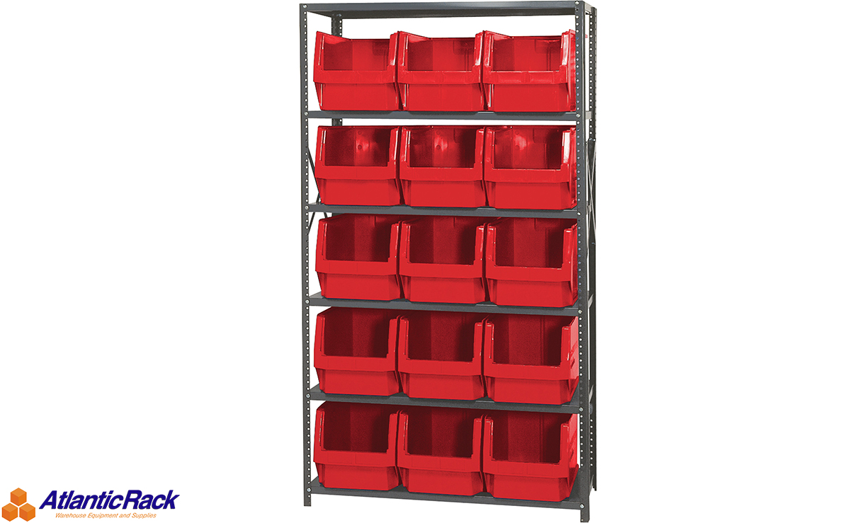 Plastic Storage Bins, Containers & Wire Shelving