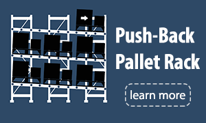 Push Back Pallet Rack Jacksonville
