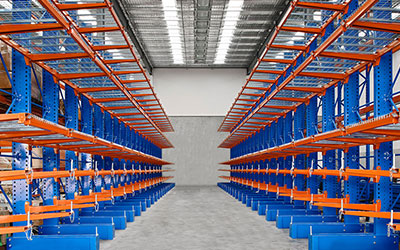 Cantilever Industrial Horizontal Storage System