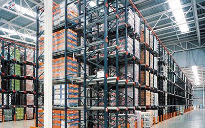Drive In Pallet Rack Industrial Storage System