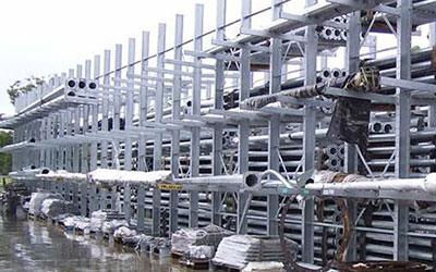 Galvanized Pallet Rack Industrial Storage System
