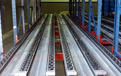 Pallet Flow Industrial Storage System